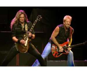 Joel Hoekstra and Brad Gillis of Night Ranger