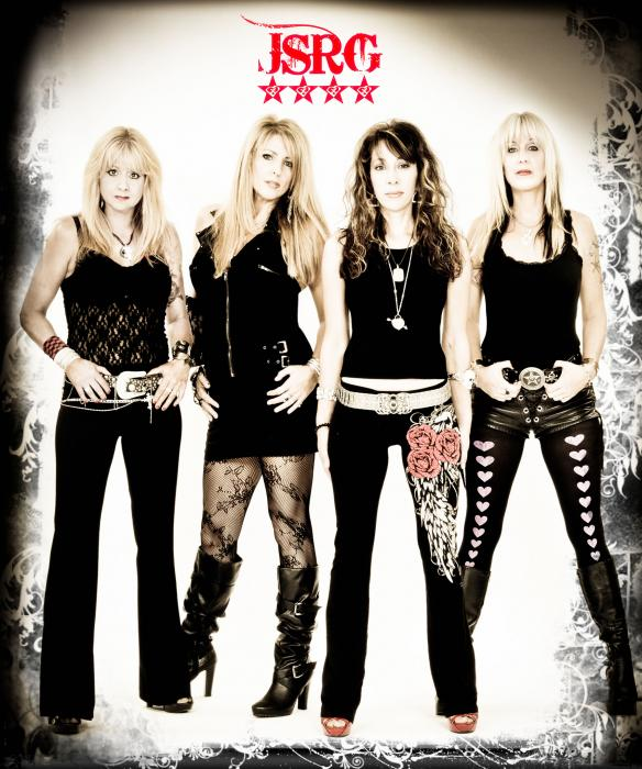 (l to r: Gina Stile, Janet Gardner, Roxy Petrucci, Share Ross)