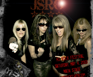 Share Ross, Roxy Petrucci, Janet Gardner and Gina Sile of JSRG