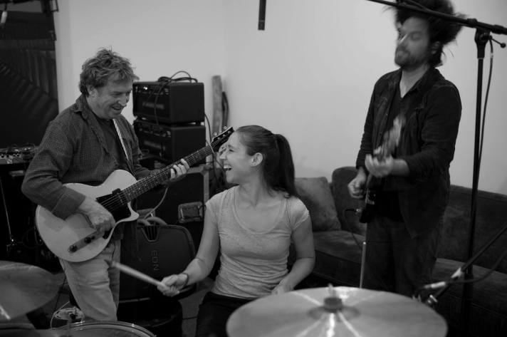l to r: Andy Summers, Emmanuelle Caplette and Rob Giles - Circa Zero