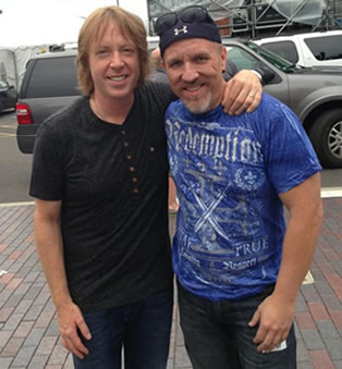 Me and Jeff Pilson
