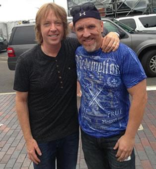 Me and Jeff Pilson
