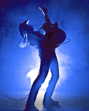 Ted Nugent - photo by James and Marilyn Brown