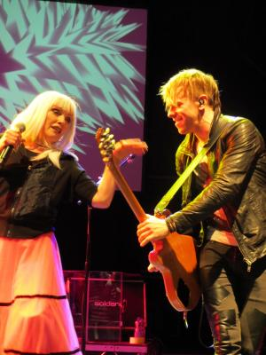 Debbie Harry & Tommy Kessler (Photo: Emma Blackband)