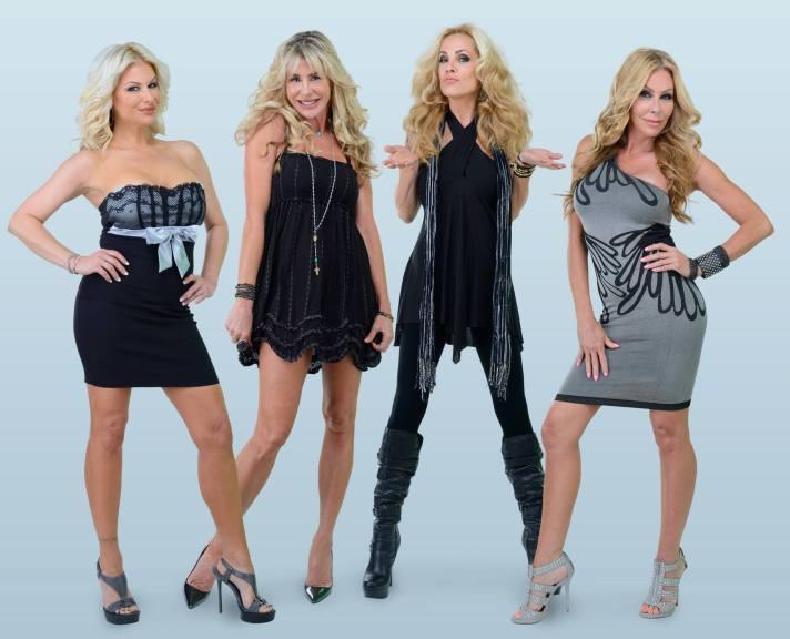 "Ex-Wives of Rock (l to r): Bobbi Brown, Susan ""Blue"" Dixon, Athena Lee, Sharise Neil"