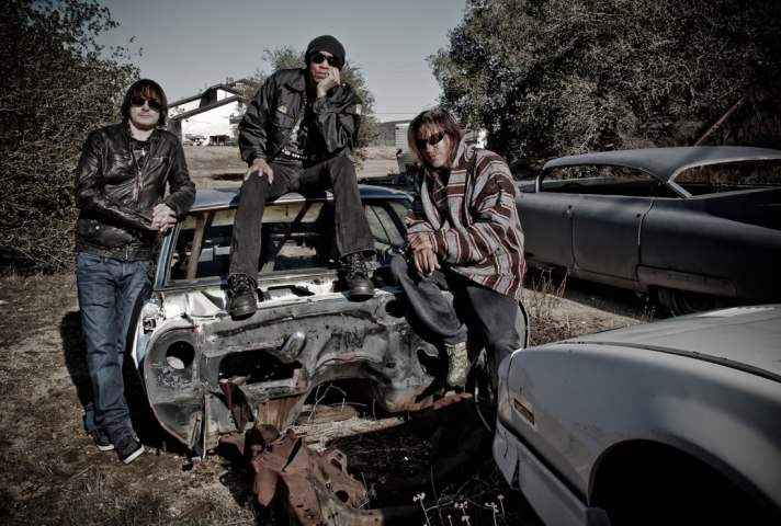 KXM (l to r: Ray Luzier, dUg Pinnick, George Lynch)