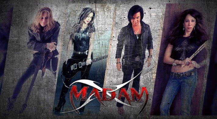 Madam X (l to r): Chris Doliber, Maxine Petrucci, Bret Kaiser, Roxy Petrucci