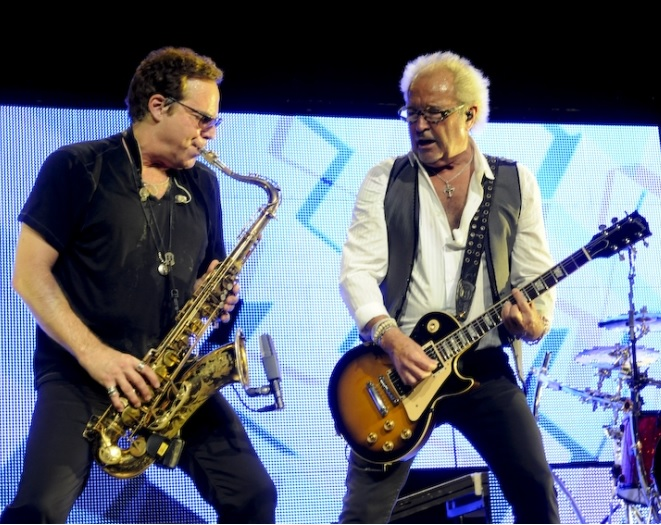 Tom Gimbel & Mick Jones (Foreigner)