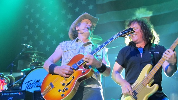 Ted Nugent and Greg Smith bring their message to the masses